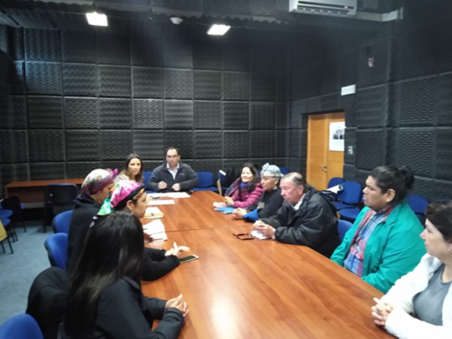 Reunión en Intendencia Regional de Los Rios
