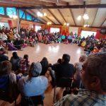 Alta convocatoria en la primera asamblea autoconvocada de Niebla para crear una nueva Constitución Plurinacional