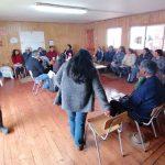 Mesa Territorial Inalaf se reúne en Bonifacio para solucionar las necesidades del territorio y conversar sobre la contingencia nacional
