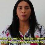 [AUDIO] Campaña prevención corona virus en mapuzugun con Patricia Aniñir