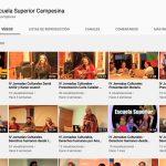 [VIDEOS] Charlas, conferencias, cursos y conciertos – recitales disponibles / Escuela Superior Campesina Curaco de Vélez