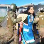 Detienen violentamente en Tirúa a la Machi Miriam Mariñan