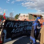 Melipeuco: Masiva marcha en defensa del río Truful Truful