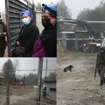 Emilio Pino junto a F.F.E.E. interrumpen ceremonia Mapuche en sector los Pellines